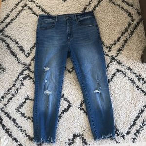 AF blue distressed jeans size 32